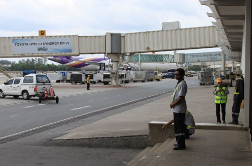 The apron at Phuket Airport
