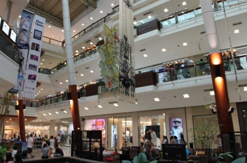 View inside Central Festival shopping mall Phuket